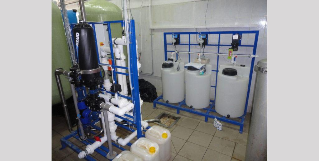 Система для слива химических реагентов scat